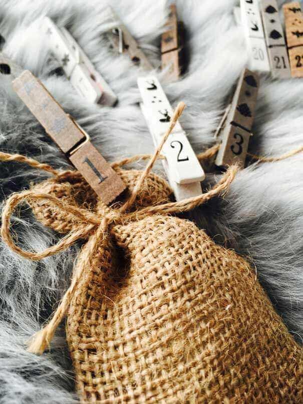 adventny kalendar 2 - Je čas na ozdoby a dekorácie - lebo Vianoce