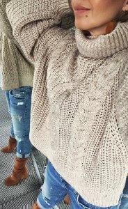 vzor1 184x300 - TOP 10 pletených modelov, ktoré túto zimu očaria i zahrejú