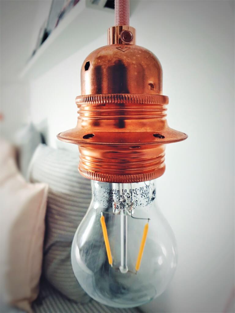 6 - Ako si vyrobiť lampu v štýle scandi