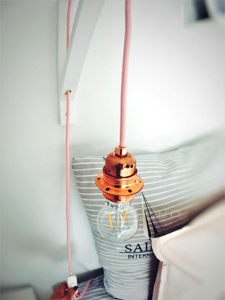 8 - Ako si vyrobiť lampu v štýle scandi