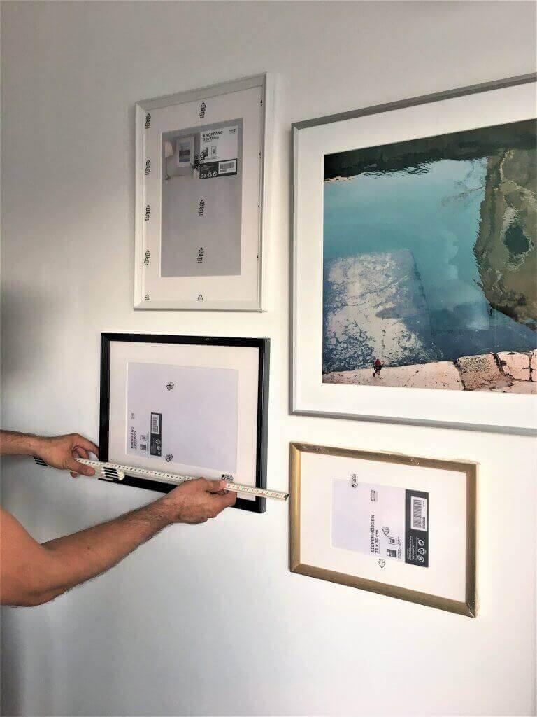 2 1 768x1024 - Super jednoduchý trik na stenu, ktorá priláka všetky pohľady
