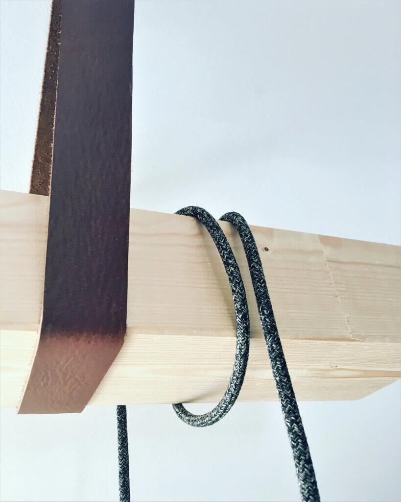 1 - Uťahujte opasok v štýle alebo ako si vyrobiť netradičnú policu