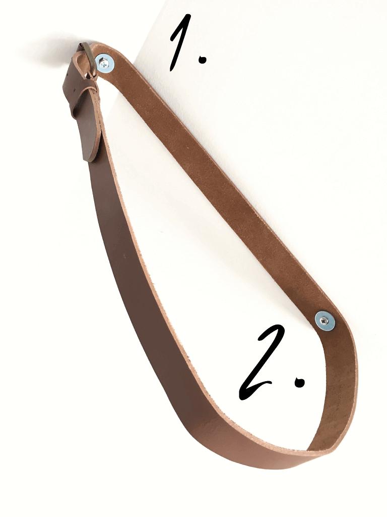 5 768x1024 - So baust du ein stylisches Regal aus einem Gürtel