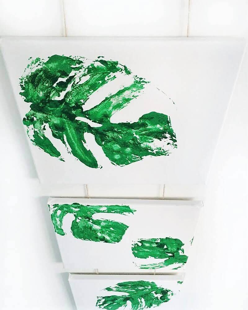 IMG E2524 - Das ist eine Idee! Macht euch eine Wanddekoration im botanischen Stil