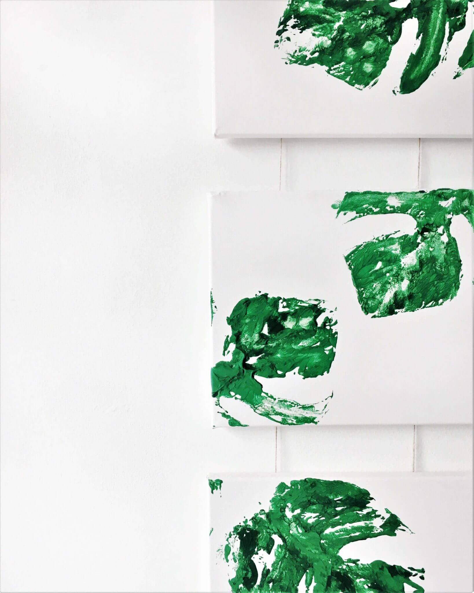 IMG E2581 - Das ist eine Idee! Macht euch eine Wanddekoration im botanischen Stil