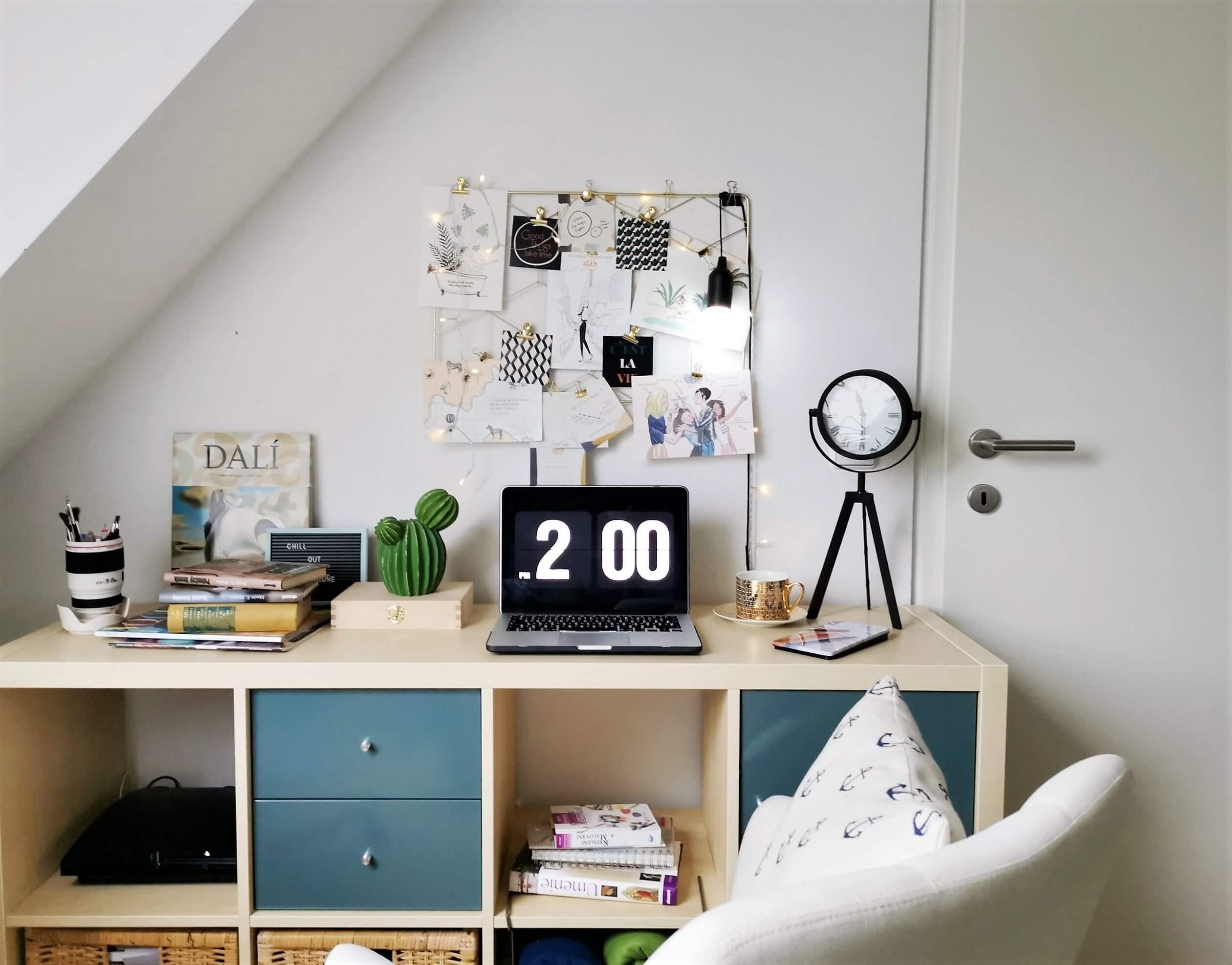 5 - Nový trend domácej pracovne – motivačná doska