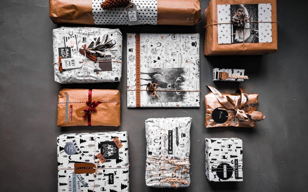 11 tipov ako zabaliť vianočné darčeky originálne a kreatívne