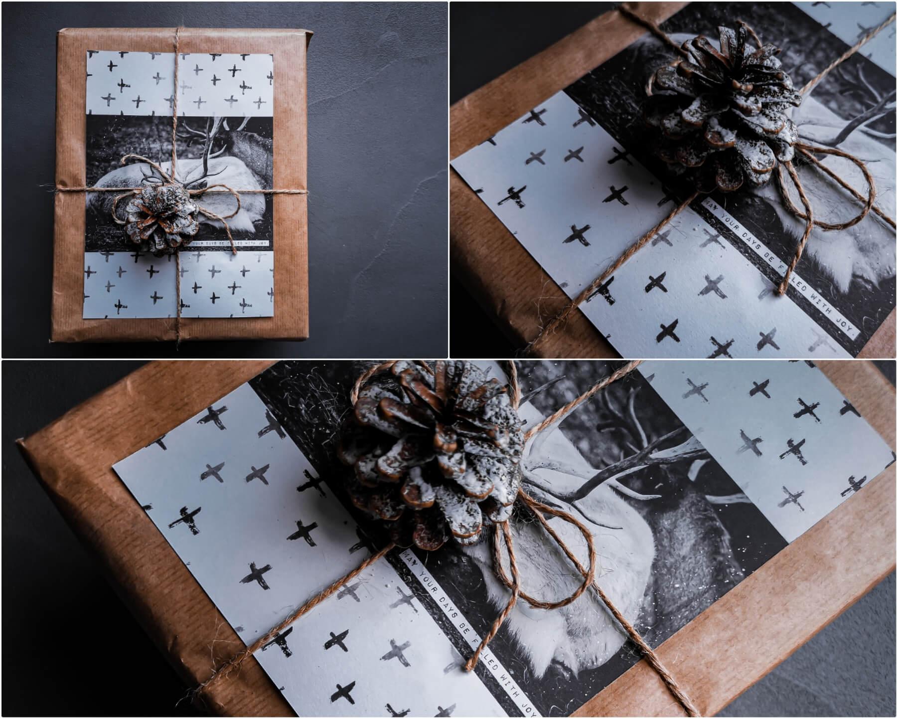 inCollage 20191208 165212146 resized 20191208 050953580 - 11 tipov ako zabaliť vianočné darčeky originálne a kreatívne