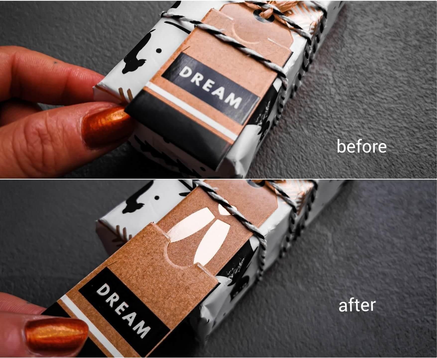 inCollage 20191208 165909443 resized 20191208 072733967 e1576439019478 - Geschenke verpacken: 11 kreative Tipps zum Selbermachen