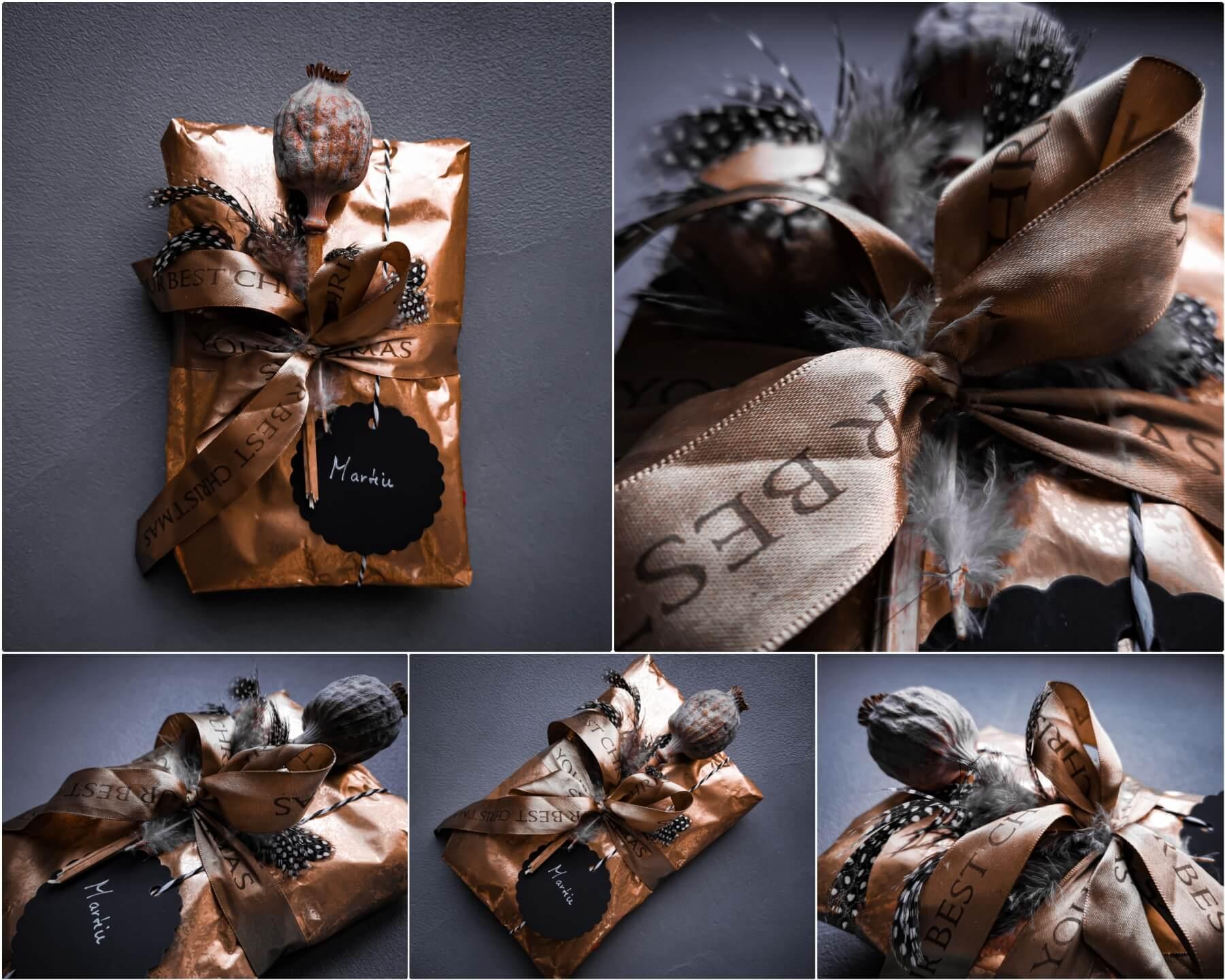 inCollage 20191208 170000406 resized 20191208 050953355 - 11 tipov ako zabaliť vianočné darčeky originálne a kreatívne