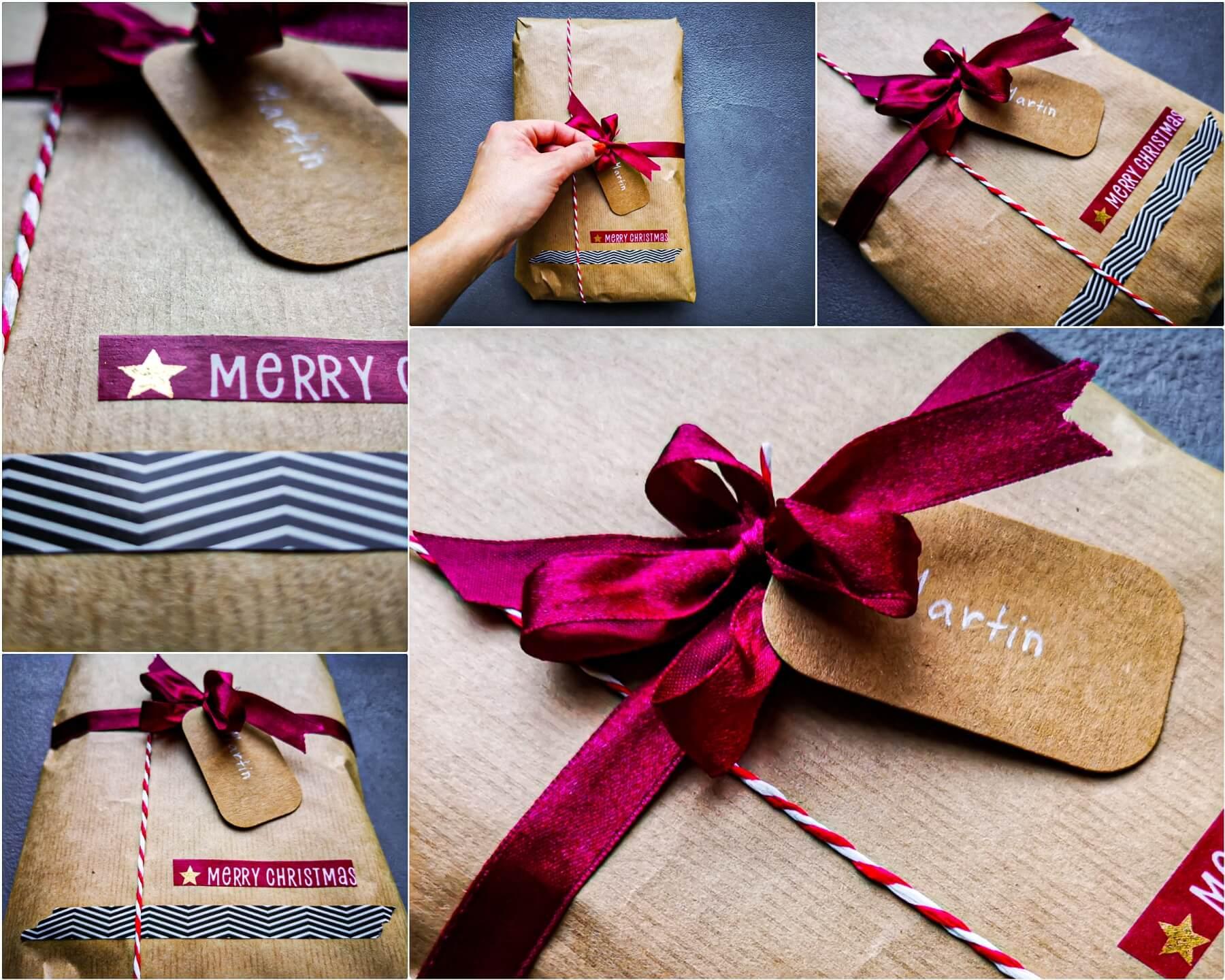 inCollage 20191209 203406465 1 resized 20191215 064633301 - 11 tipov ako zabaliť vianočné darčeky originálne a kreatívne