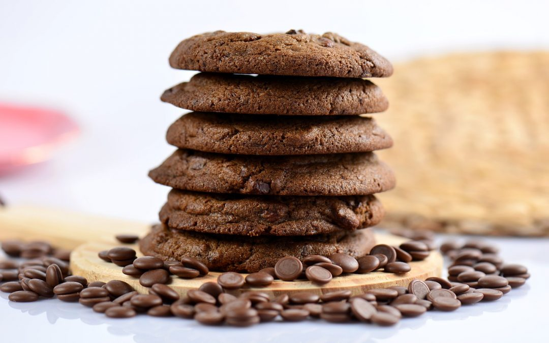 Sladká bleskovka – recept na vegánske čoko cookies