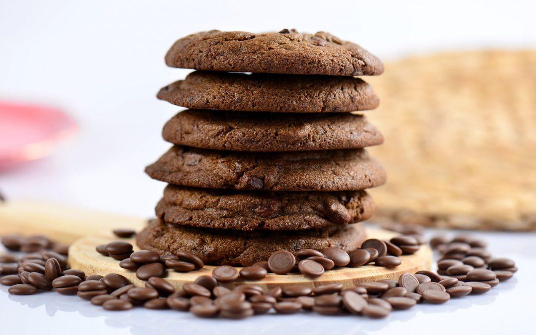 Süße Verführung – vegane Schoko-Cookies