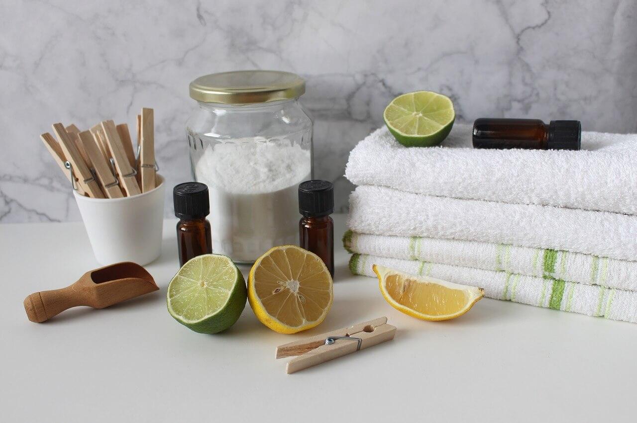 laundry 4017609 1280 - Putzen ohne Chemie! Ökologische Tricks aus der Küche