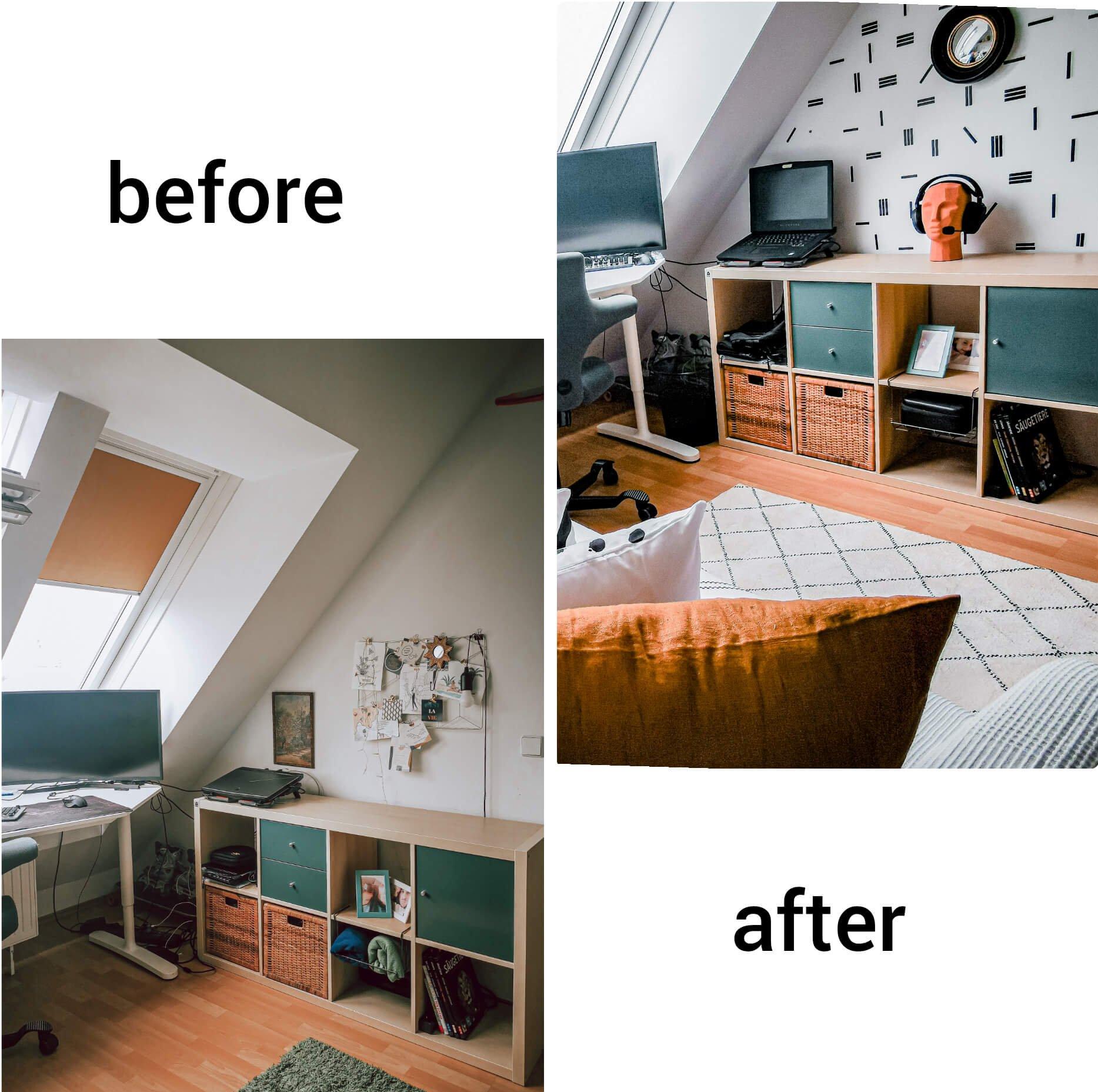 InShot 20200603 142248737 e1591187089231 - PRED a PO: Premena izby bez výmeny nábytku