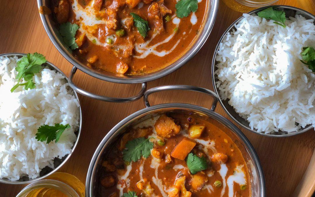 Super lecker! Rezept für ein selbstgemachtes veganes Curry