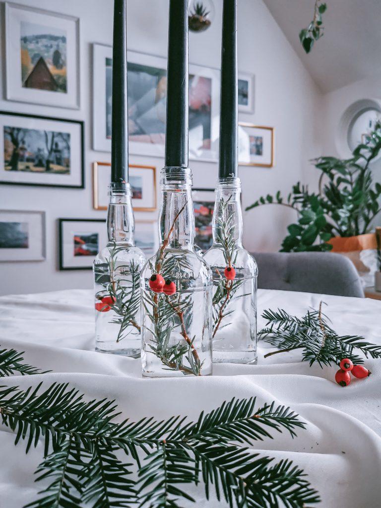 IMG 20201129 121818 2 768x1024 - Elleganter Adventkerzenständer aus alten Flaschen (Vol.2)