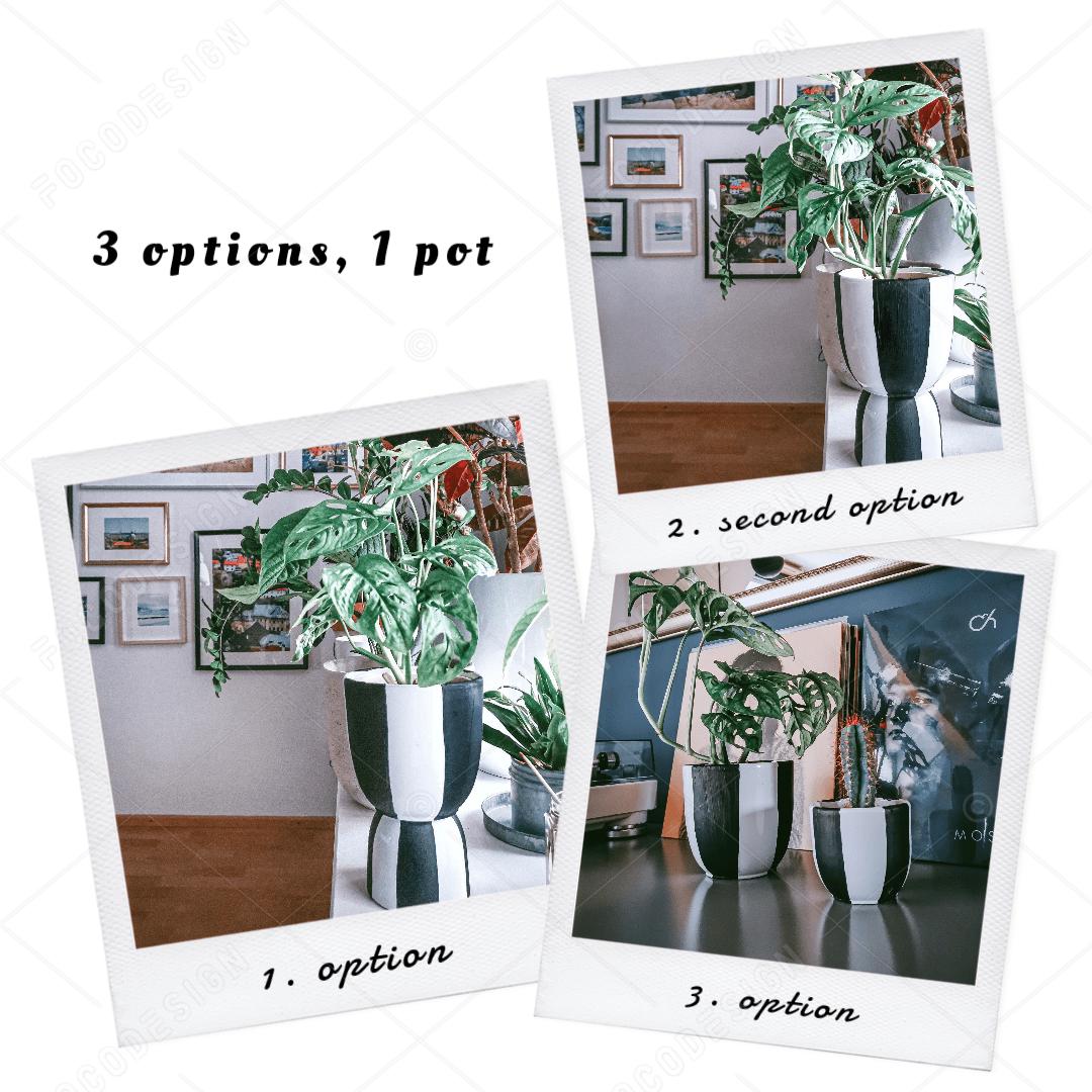 16105419789270 2 - Dva v jednom a predsa trikrát inak! DIY multi-kvetináč