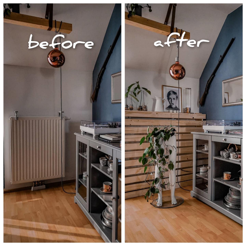 6 - Ako zakryť radiátor za babku 3-krát inak