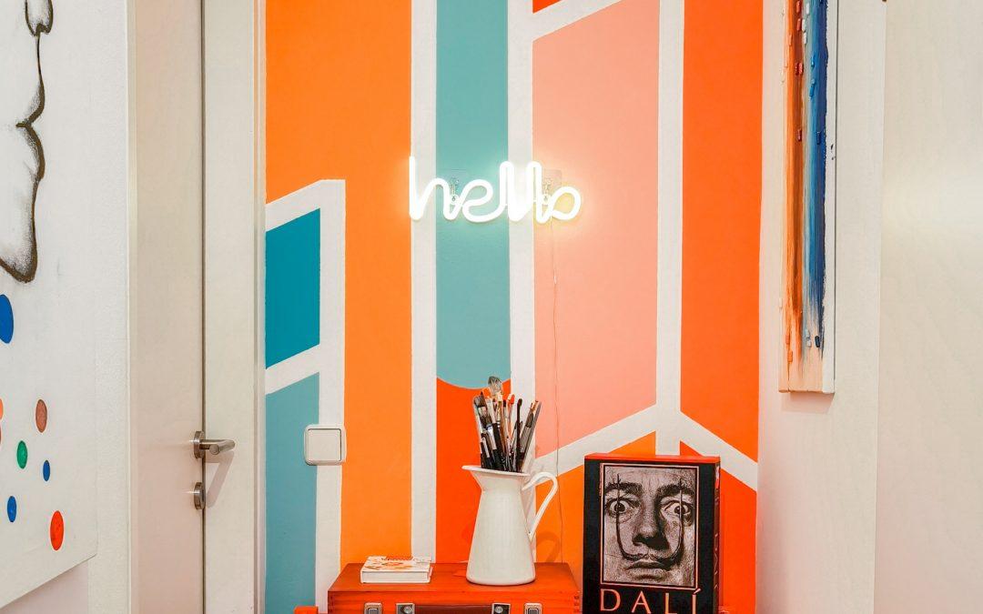 Kreative Wand-Idee (nicht nur) für Maler